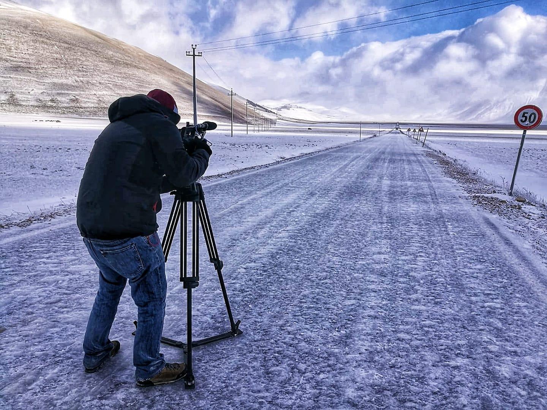 Prima neve a Castelluccio di Norcia