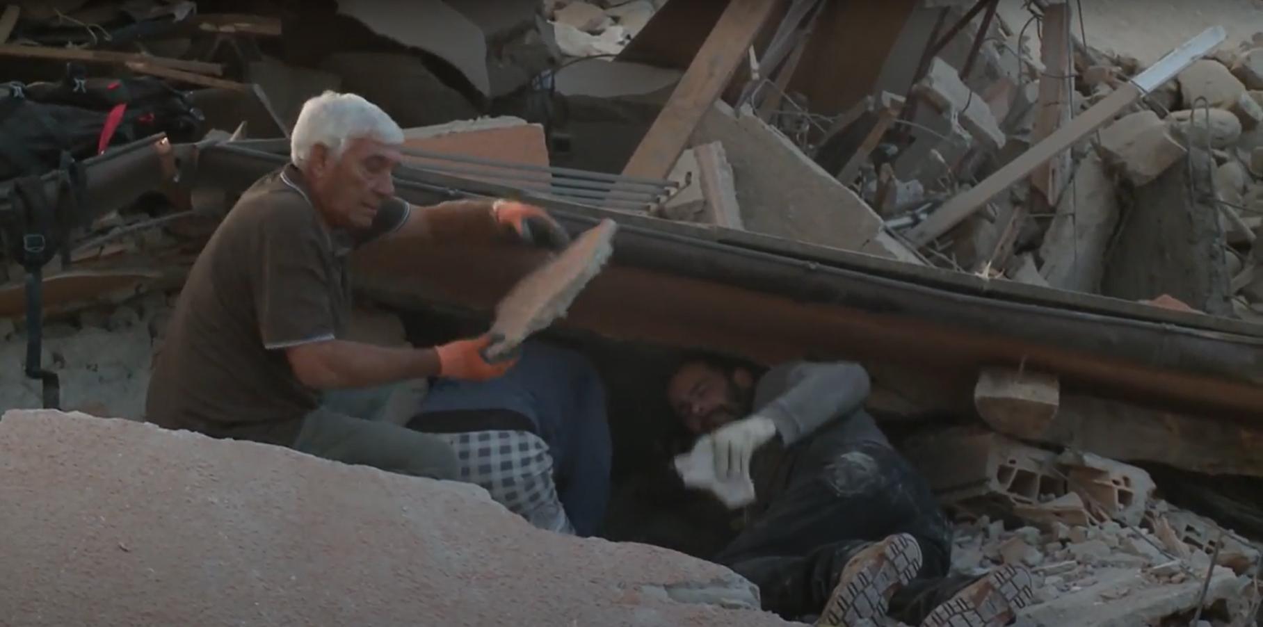 Terremoto di Amatrice, i primi soccorsi