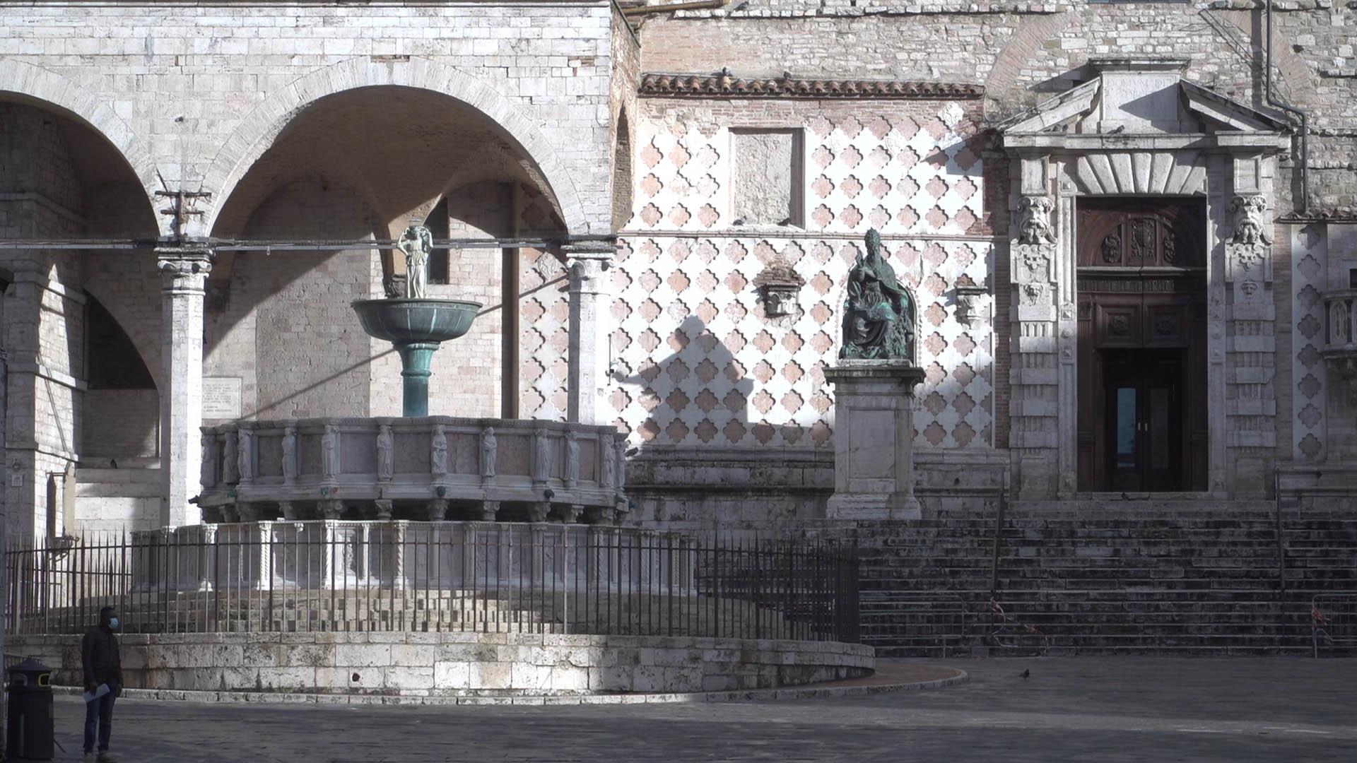 Perugia zona rossa